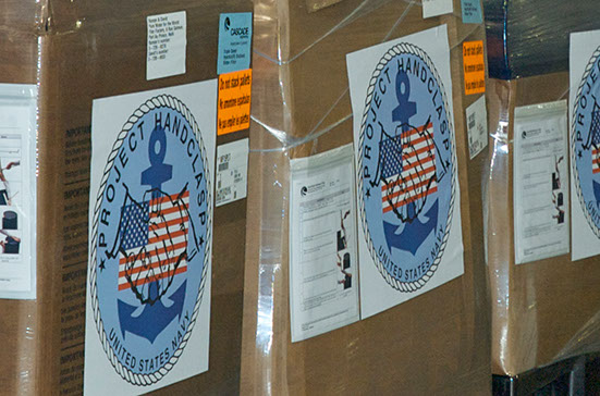 US_Navy_deliver_Hydraid®_Biosand_Filters_to_South_Africa
