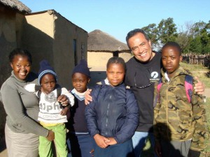 4 of the many orphans in Oshoek being looked after by Bambanani and Hands at Work