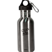 Wishing Well International Foundation WW-500, Stainless Steel Sports Bottle - 500 ml