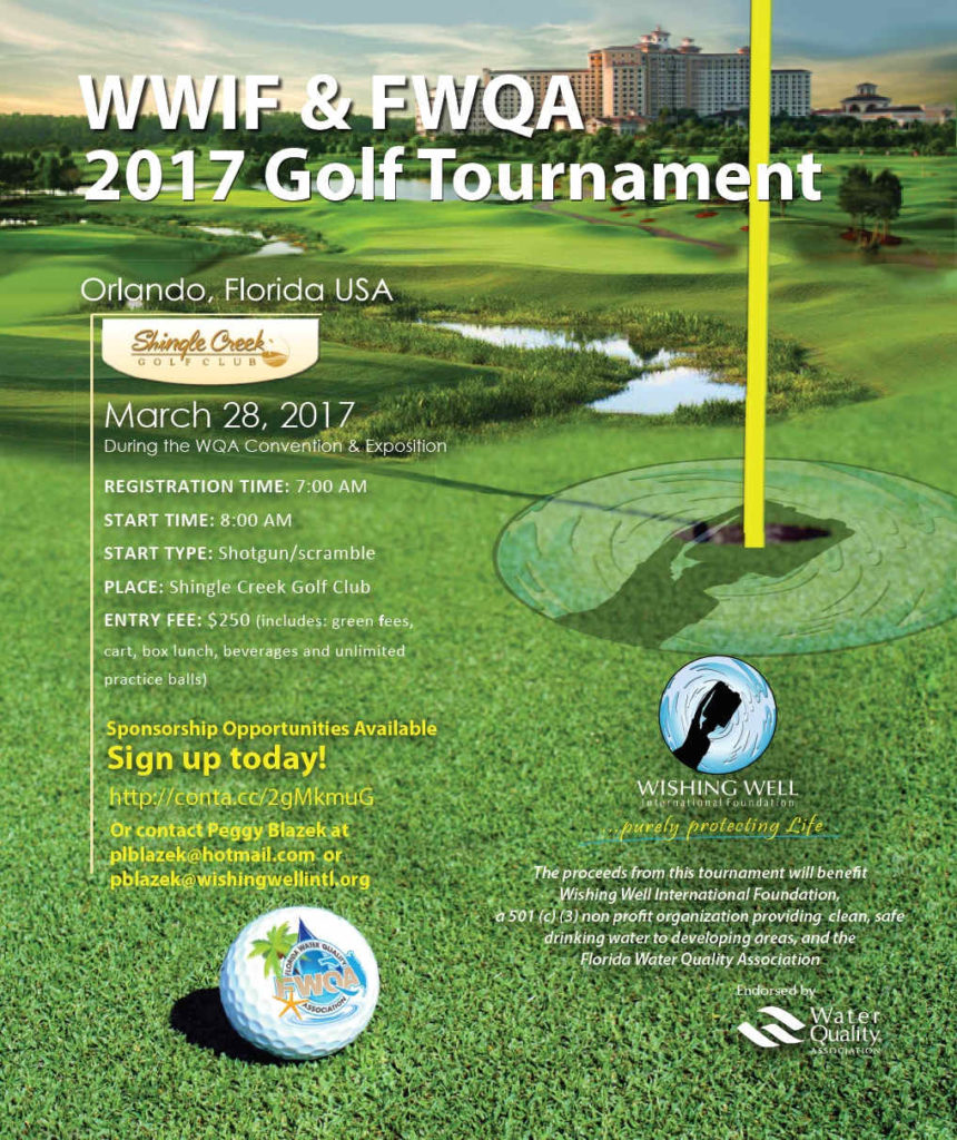 WWIF 5th annual golf tournament